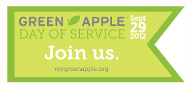 Green Apple Day of Service 2012