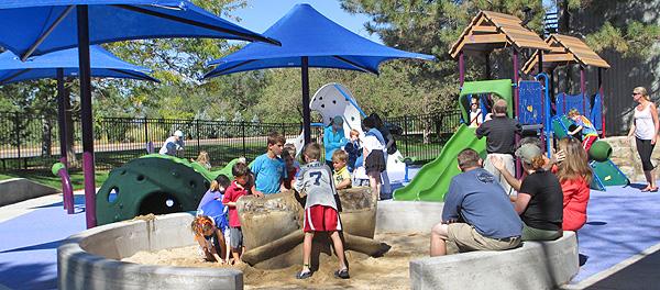 STAR Center sensory playground grand opening