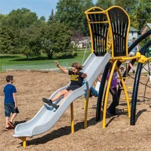 Surf Slide for Evos® playsystems.