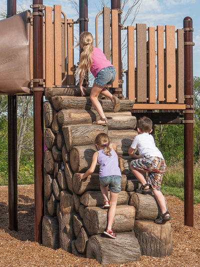 Log Stack Climber for PlayBooster®
