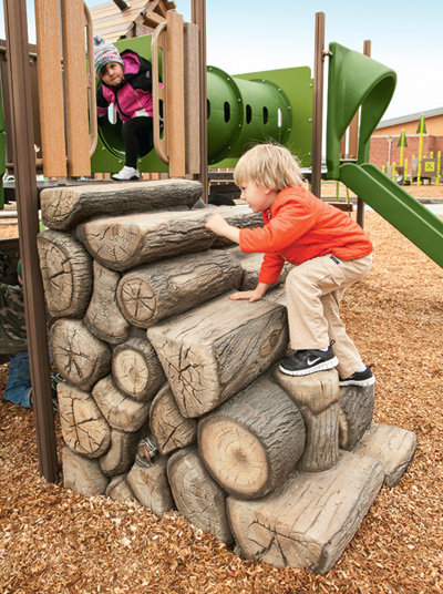 Log Stack Climber for PlayShaper®