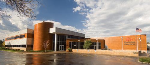 Landscape Structures corporate headquarters in Delano, Minn.