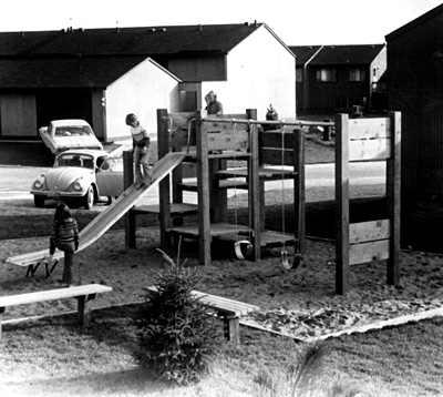 Landscape Structures' first sold playstructure.