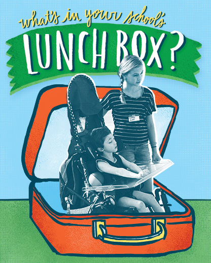 What's in your school's lunch box?