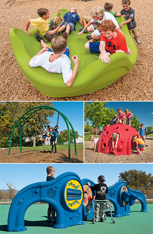 Inclusive playgrounds mean more than just accessible.