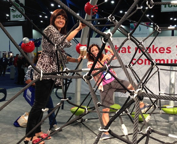 Learn more about our playground net climbers, and our time at NRPA.