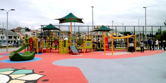 Cuenca, Ecuador, is home to the first inclusive playground in the entire country!