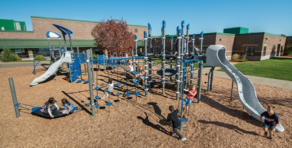 Netplex is a great playstructure design for elementary school playgrounds.