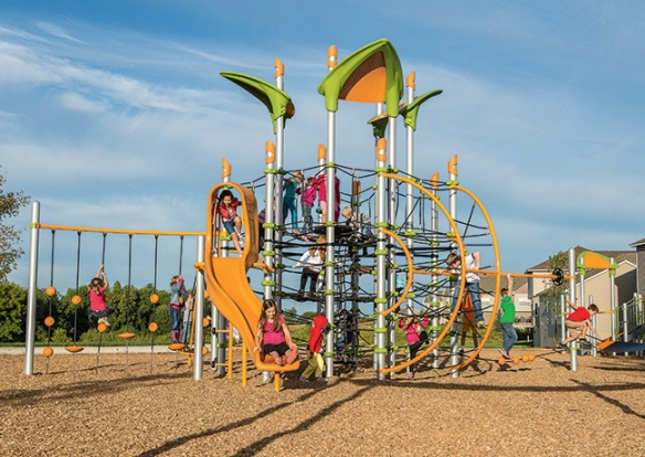 Playgrounds are a place where children can learn and grow through exploration and social interactionLearn about the importance of balancing safety and challenge for kids ages 5 to 12.