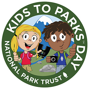 Make the pledge to visit a local park on Kids to Parks Day, May 16.