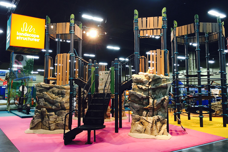 The Canyon Collection™ helped us ROCK the exhibit hall at NRPA.