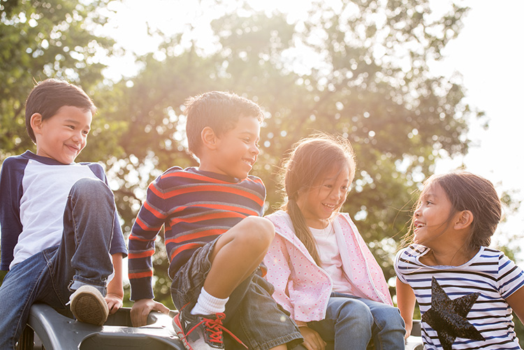 Decline in children's play time shown in new study