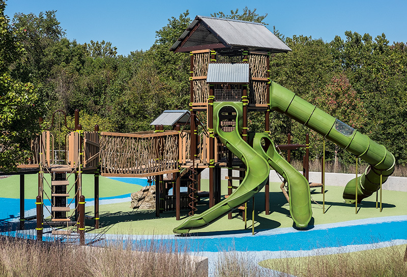 Nature-inspired playground designs