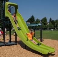 Double Swoosh Slide®