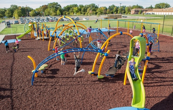 Both outdoor physical activity and indoor classroom time are important for kids' growth and development.