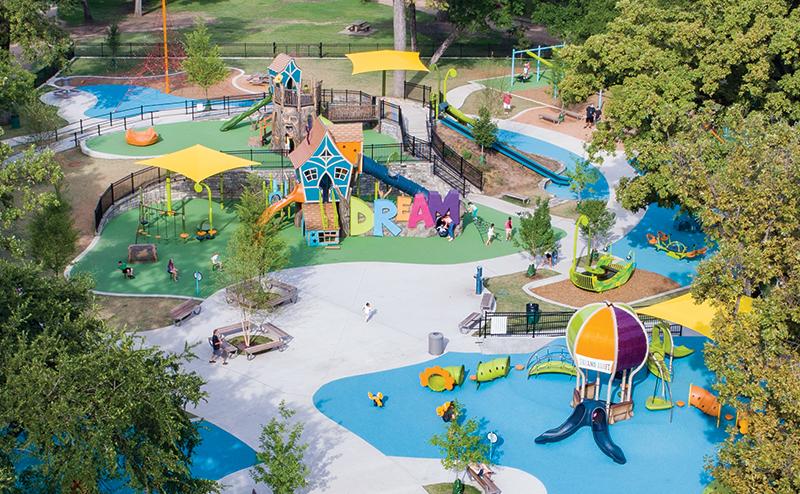 Frank Kent's Dream Park, Fort Worth, Texas