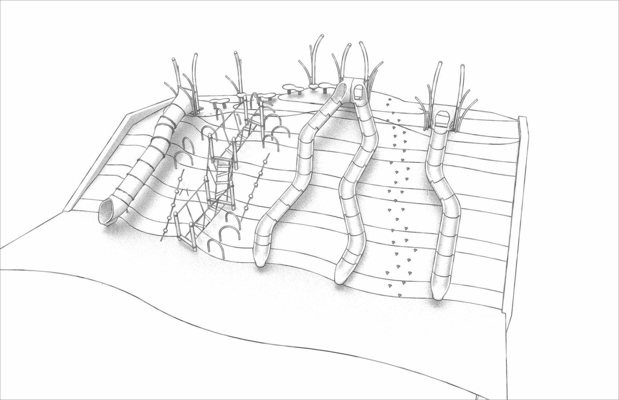Topography Concept O